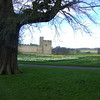 On the way to Alnwick Castle