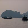 Fishing boats, Halong Bay