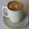A nice looking latte at Cibo.