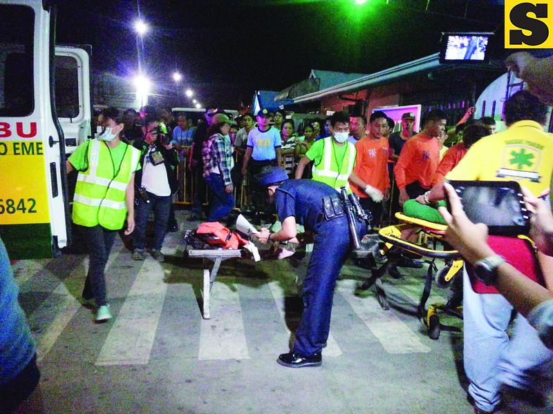 Survivors of Cebu sea mishap