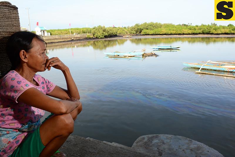 Cebu fisherfolk affected by oil spill