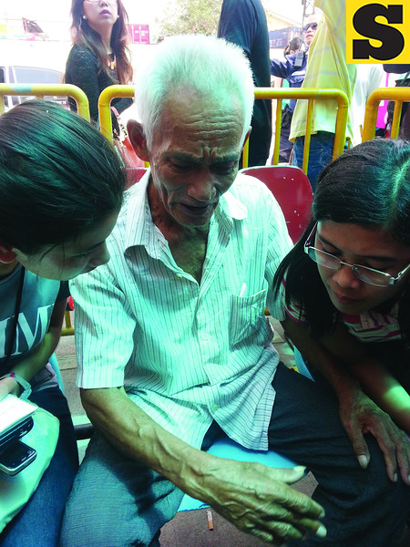 Elderly survives Cebu sea mishap