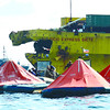 Point of impact in Cebu sea mishap