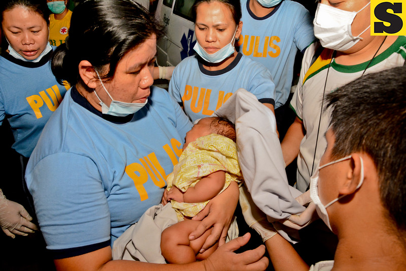 One of the youngest survivors in Cebu sea mishap