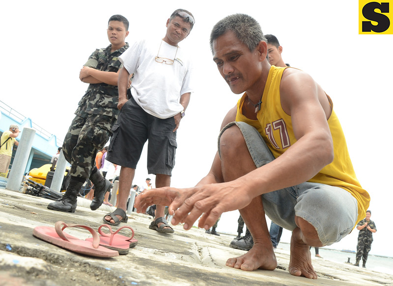 Fisherman's tale of Cebu sea mishap