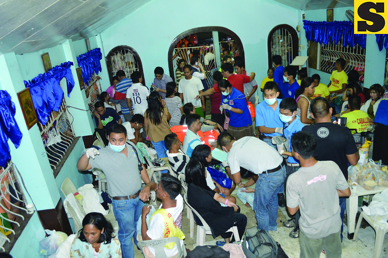 Survivors from Cebu sunken ferry treated at Talisay chapel