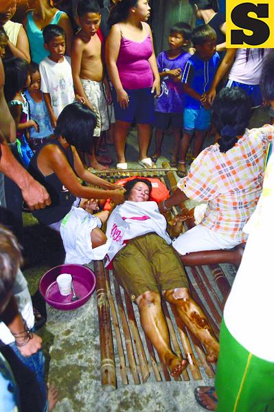 Passenger survives collision at sea