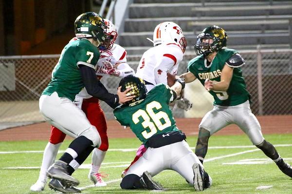 Cedar Falls vs. Kennedy Football 10/16/15