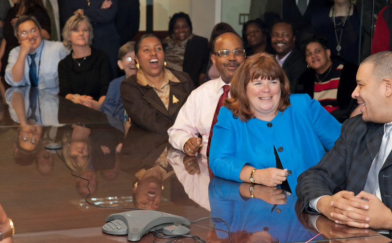 It was a wonderful tribute to Lis's long career and deep friendships at HUD.
