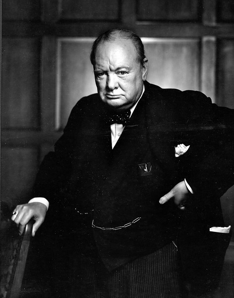 Winston Churchill by Yosuf Karsh