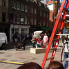 Robbie Williams - Filming Music Video (Brushfield St) London 16/08/12