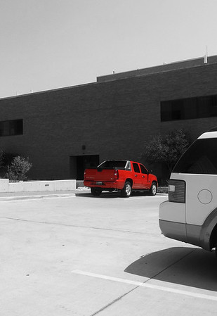 Red Highlighted B&W