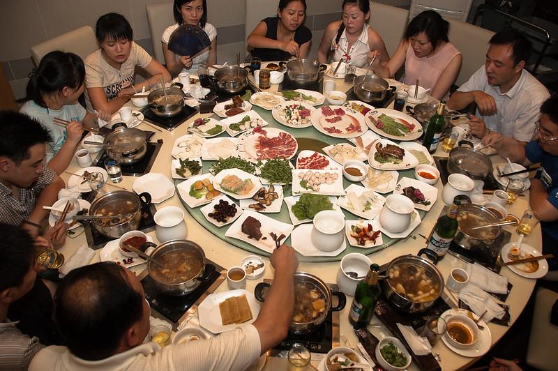 Shanghai - céges vacsora