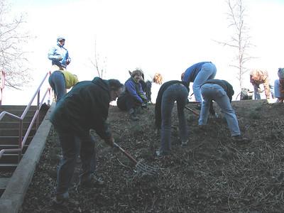 English Ivy Alternative Garden Volunteer and Staff Photos