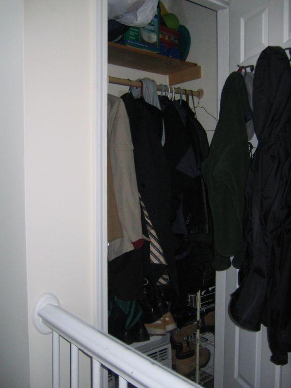 closet on landing