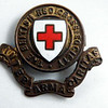 "One of two Red Cross badges that Mother wore during her time with the VAD's (Voluntary Aid Detachment) with whom she was a nurse. More detail about the VAD can be found here...<br />  <a href=""http://www.spartacus.schoolnet.co.uk/FWWnurses.htm"">http://www.spartacus.schoolnet.co.uk/FWWnurses.htm</a>"