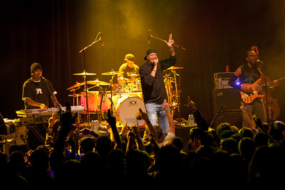 Chali 2na, MTHDS and Rooster McCabe brought various styles of hip-hop to the Fox Theatre on Wednesday. Photos by Joshua Elioseff, heyreverb.com.