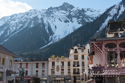 No such thing as a bad view in Chamonix...