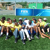 Champions League Training of Coaches (ToC) in Alexandra.  April, 2014.