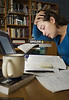 Choice 8 of 9<br /> <br /> <br /> <br /> Caucasian female pulling an all nighter, studying for an exam, Alberta, Canada.