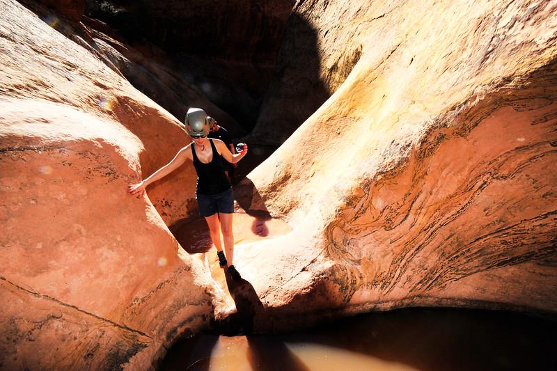 Chamisa Canyon Canyoneering