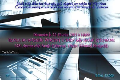 Concert ticket 2013