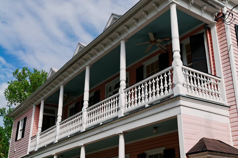 Typical Charleston House and Porches