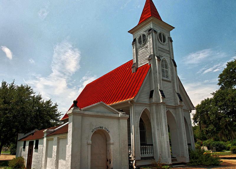 Bethany Chapel, Magnolia Cemetery, Receiving Tomb