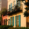 Rainbow Row - Tradd and East Battery