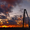 Ravenel Bridge at Sunrise