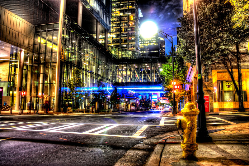 Charlotte NC, Uptown --Click for a larger view--