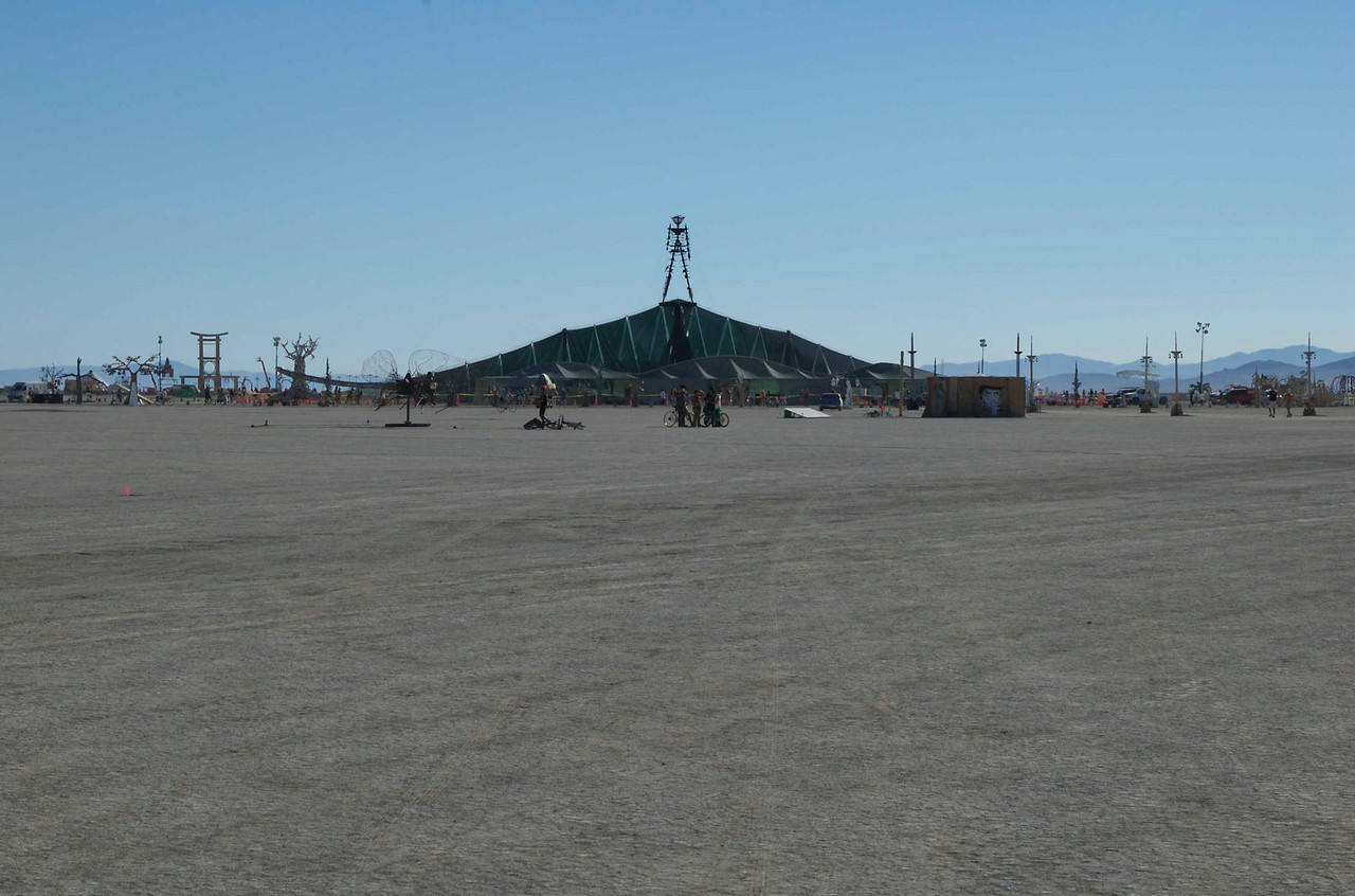 Another view from the playa of the charred Man.