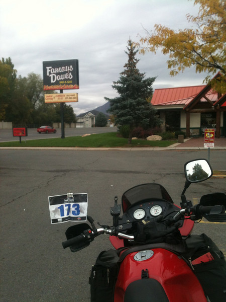 #14 Famous Dave's Bar-B-Que, 1166 Fort Union, Midvale, UT <br /> 13 Oct. 2012