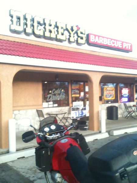 #1  Dickey's Barbecue Pit, 595 S Main, Heber City, UT     31 July 2012