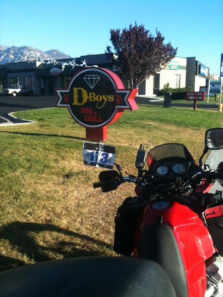 #7 D-Boys BBQ & Grill,   294 N State, Orem, UT        30 Sept 2012