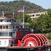 Delta Queen docked on the Tennessee River in Chattanooga, TN