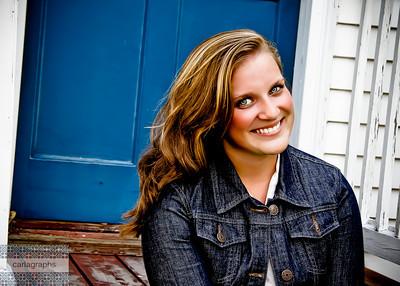 Caitlin Blue Door fun-