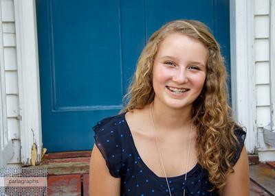 Megan Blue Door -