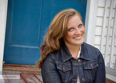 Caitlin Blue Door-
