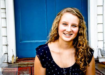 Megan Blue Door  fun-
