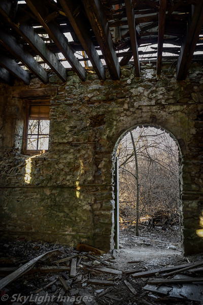 Abandoned St. Martha's Manor in Downingtown, PA.