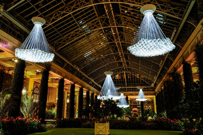 Longwood Gardens Light Display 2012