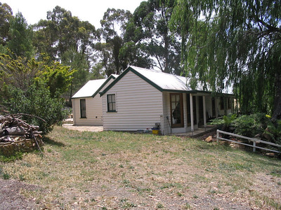 The new home in Chewton, side view