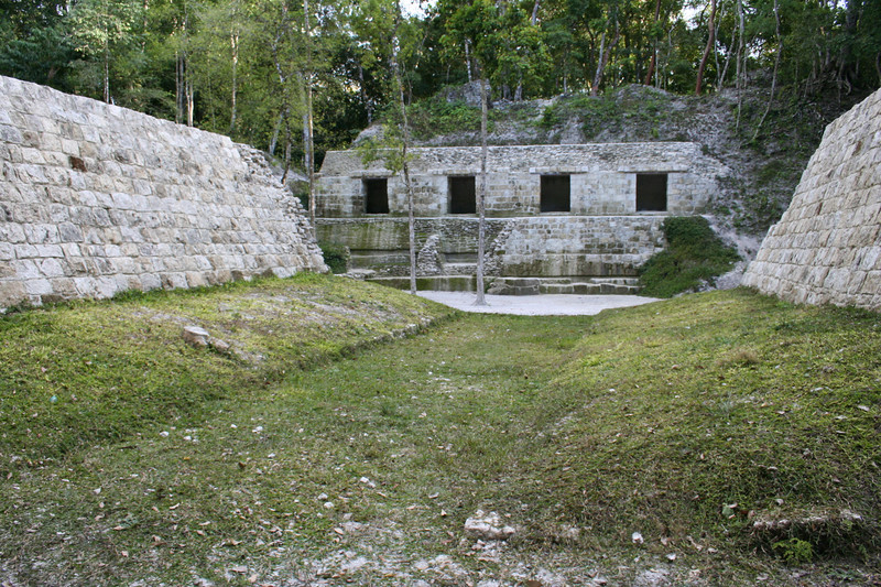 ball court.. yaxha, guatemala