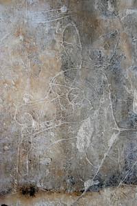 mayan graffiti.. yaxha guatemala