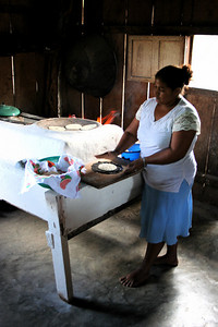woman who made me lunch, guatemala