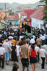 good friday procession... florez, guatemala