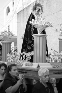 good friday procession... florez, guatemala