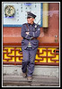 Security guard...