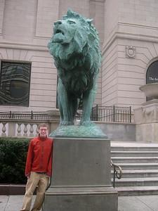 Tyler at the Art Institute